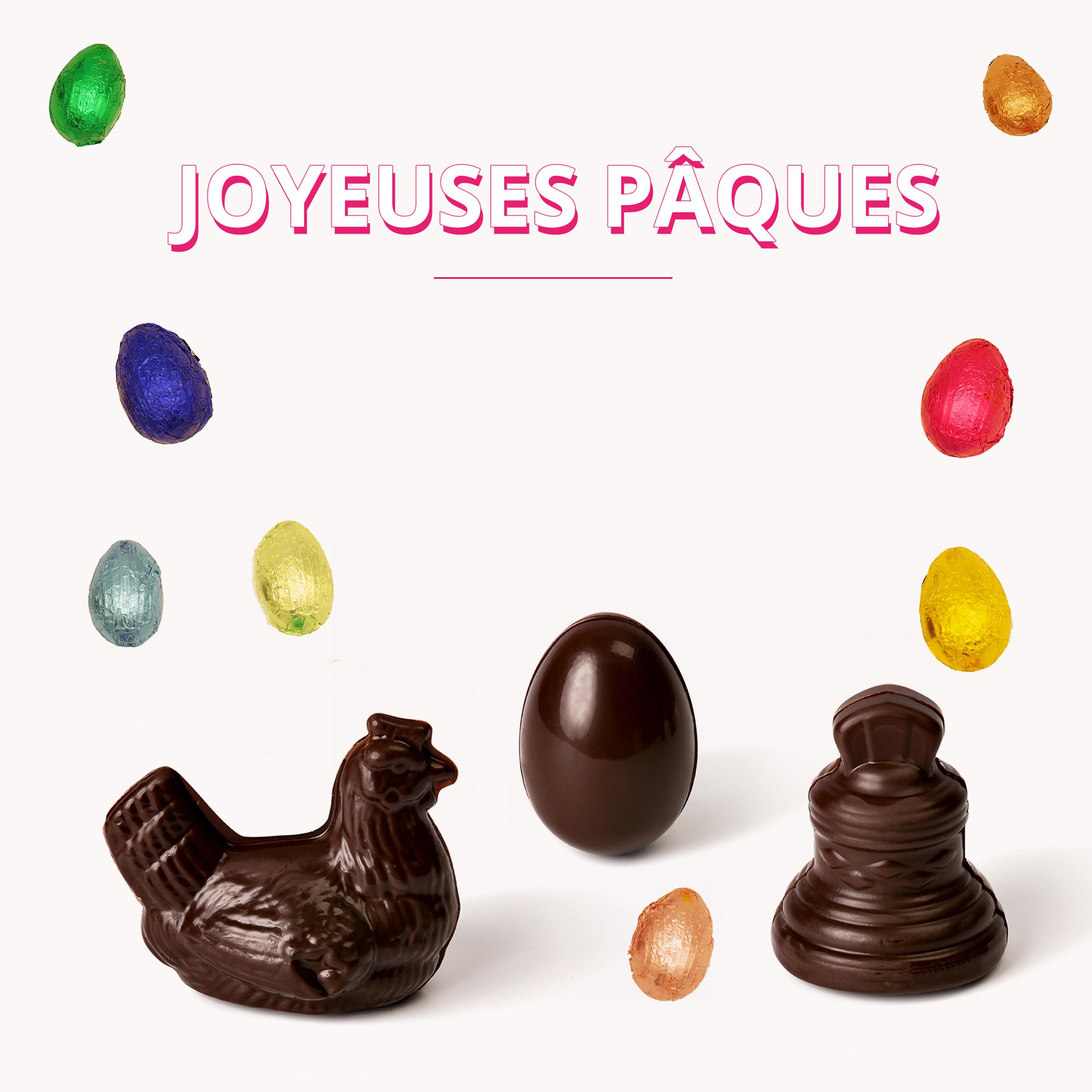 Joyeuses Pâques La Chocolatière